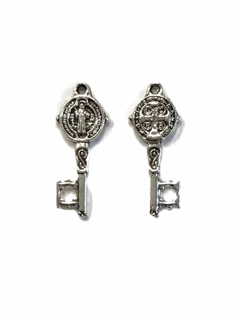 St. Benedict Mini Key Charm