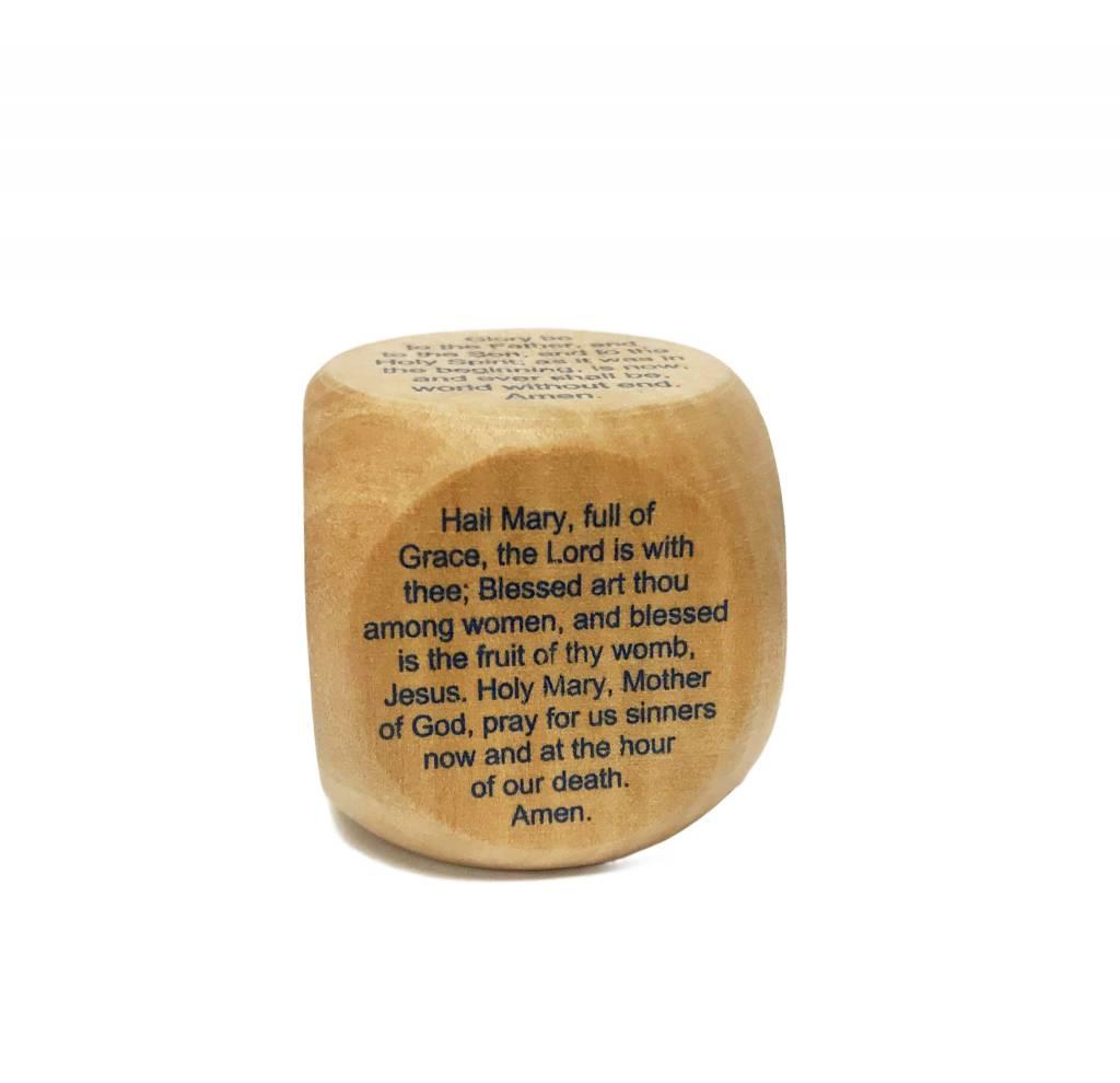 Favorite Catholic Prayers Cube