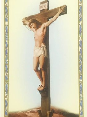 The Stations of the Cross Prayer Card