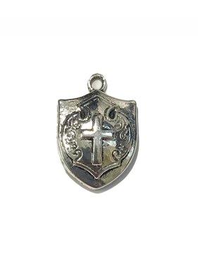 Shield w/Cross Charm