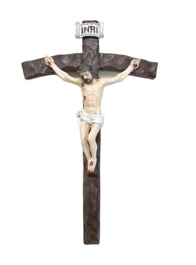 Textured Papal Wall Crucifix