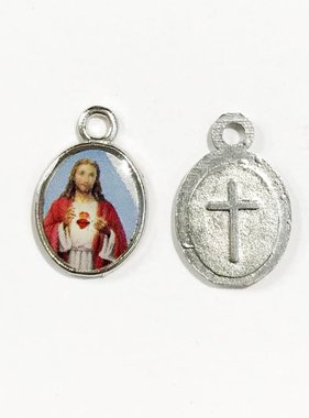 Sacred Heart of Jesus Mini Saints Medal