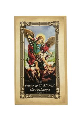 St. Michael Protection Prayer Card