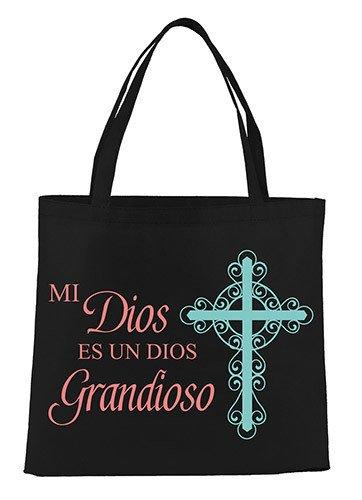 Dios Grandioso (Awesome God) Tote Bag