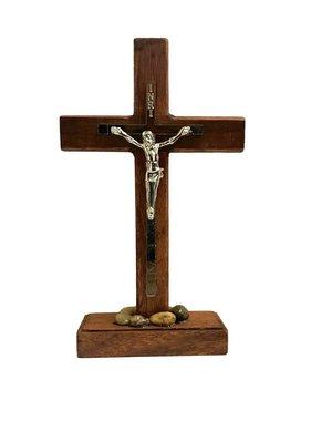 Standing Wood Crucifix