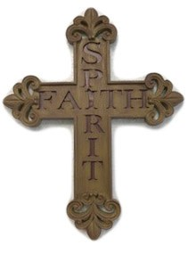 Spirit-Faith Wall Cross