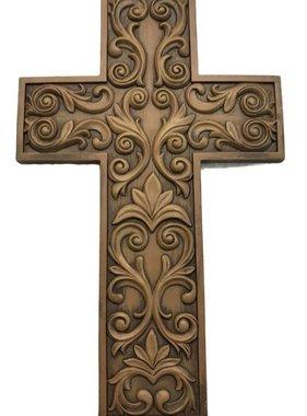 "12"" Corinthian Style Wall Cross"