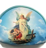 Guardian Angel Rosary Zipper Bag