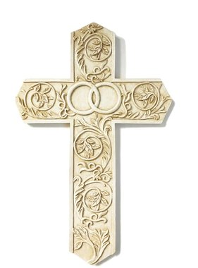 "9"" Wedding/Anniversary Wall Cross"