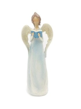 "7.25"" Pastel Blue Angel"