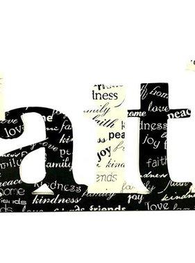 Faith Table Top Word Art