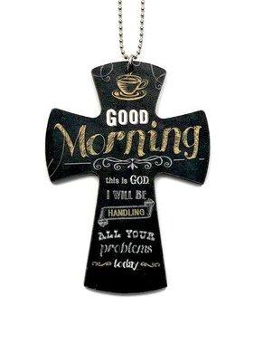 Good Morning Car Charm