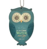Owl Car Charm Proverbs 22:12