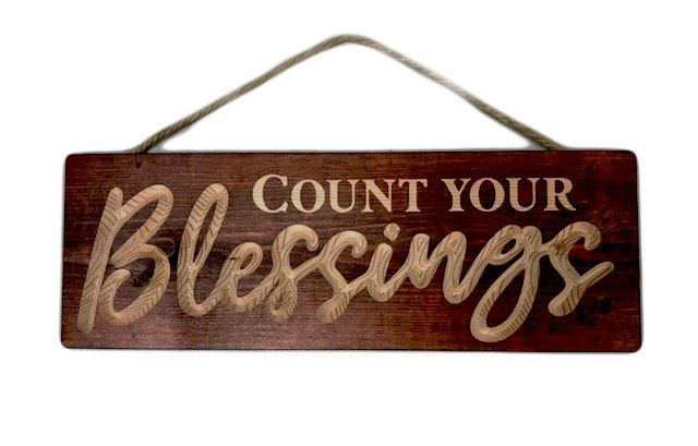 Blessings Wood Plaque