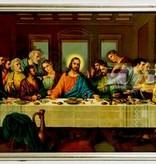 "12"" X 14"" Last Supper Framed Print"