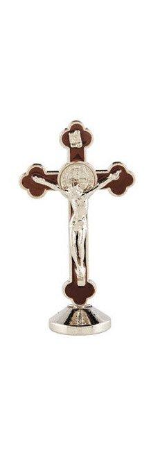 "St Benedict 3"" Standing Dash Crucifix"