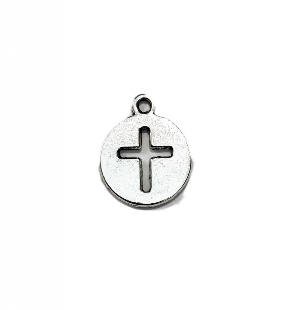 Cross In Circle Charm