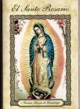 El Santo Rosario Laminated Booklet