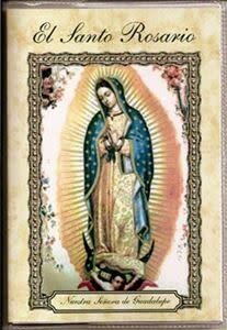 El Santo Rosario Nuestra Senora de Guadalupe Laminated Booklet