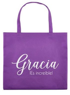 Amazing Grace Tote Bag (Spanish)