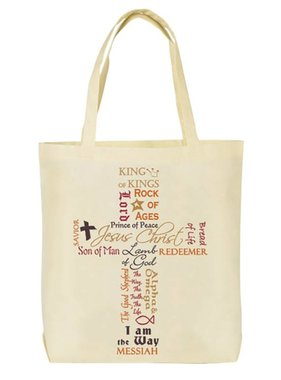 Names of Jesus Tote Bag (English)