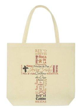 Names of Jesus Tote Bag (Spanish)