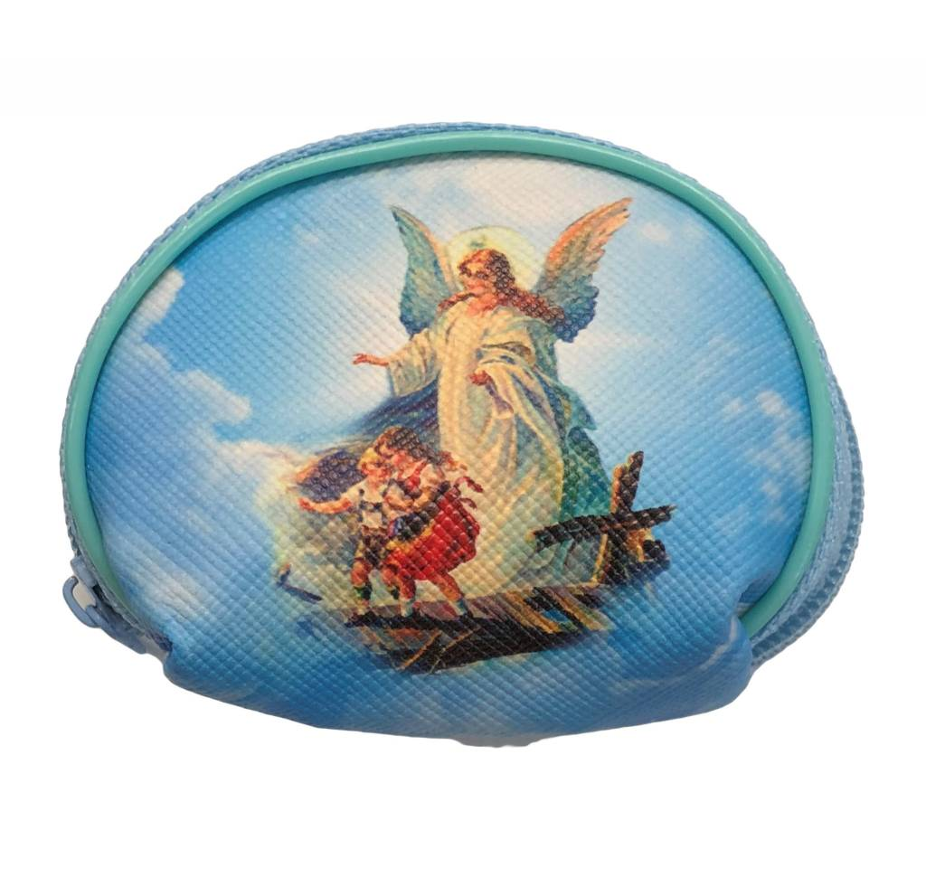 Small Guardian Angel Rosary Pouch