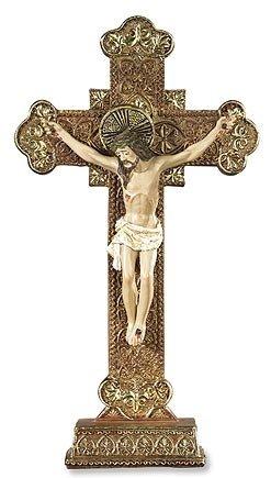 Ornamental Standing Crucifix