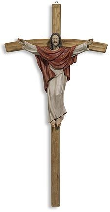 Risen Christ Wall Cross
