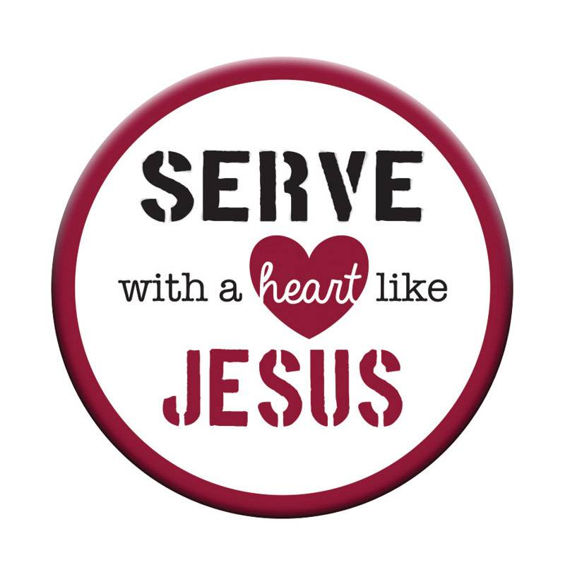 Serve Like Jesus Pocket Token