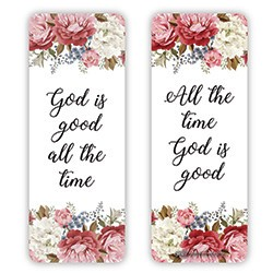 God is Good Jumbo Bookmark