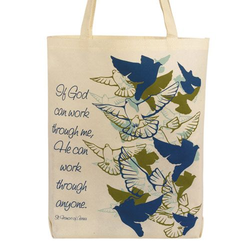 If God Can Work Through Me Tote Bag