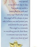 An Angel To Watch Over You Lapel Pin/Bookmark