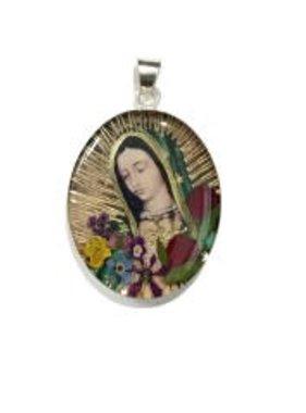 Virgen De Guadalupe Medium SS Pendant