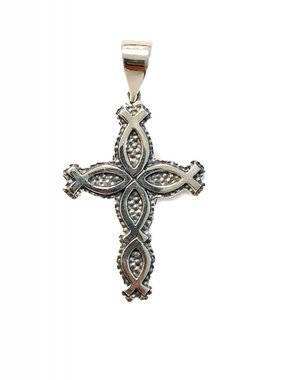 Sterling Silver Ichthus Cross Pendant