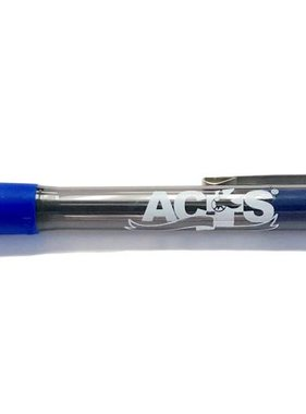 ACTS Ribbon Logo Pen Blue