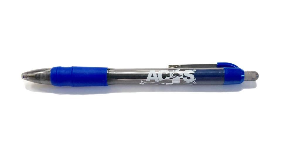 ACTS Ribbon Logo Pen Blue