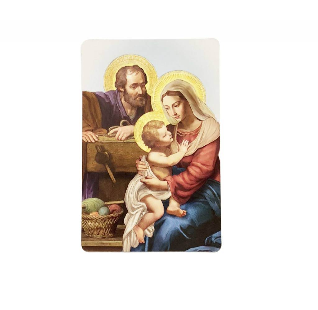 Christmas Longing Wallet Prayer Card