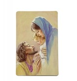 Fall On Your Knees Wallet Prayer Card