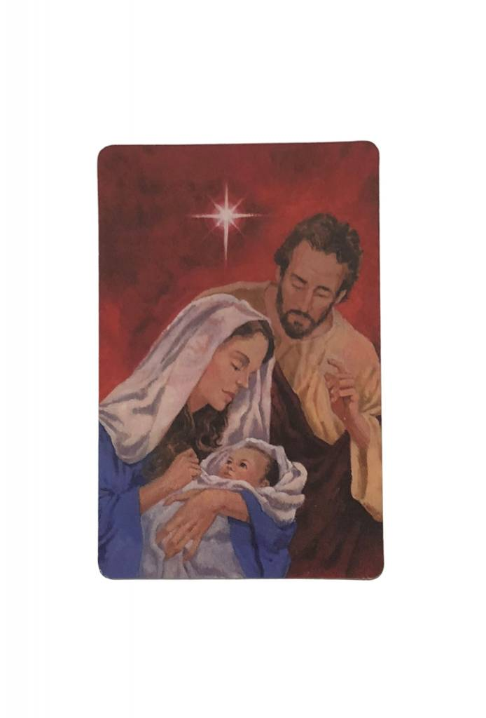 Christmas Novena Wallet Prayer Card - TheActsStore