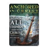 Anchored in Christ Lapel Pin