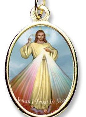 Divine Mercy Epoxy Medal