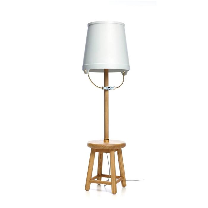 Bucket Floor Lamp