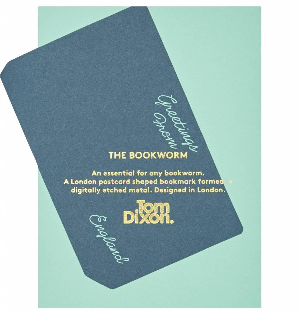 Tool The Bookworm Postcard