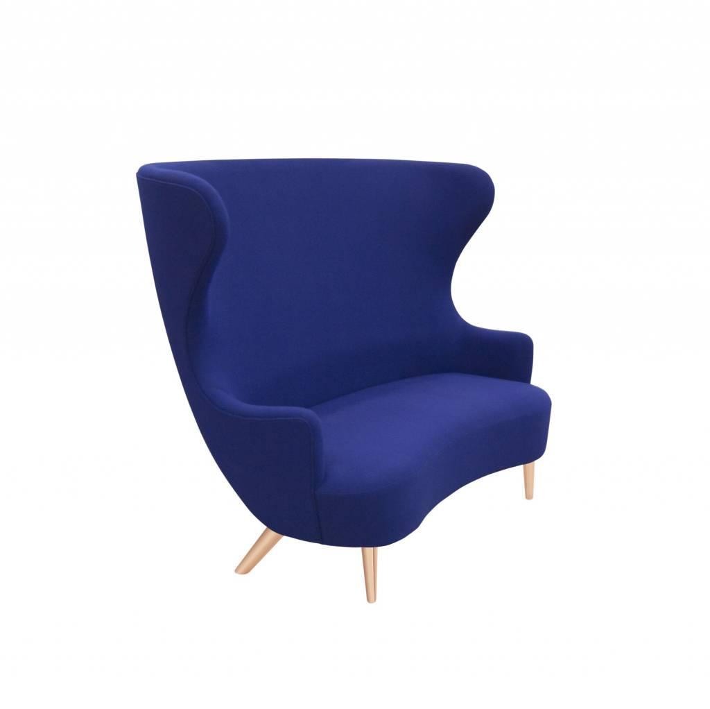 Wingback Sofa - Copper Legs