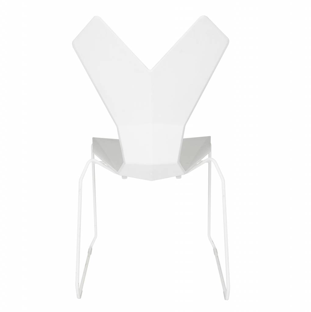 Y Chair - White Sled Base