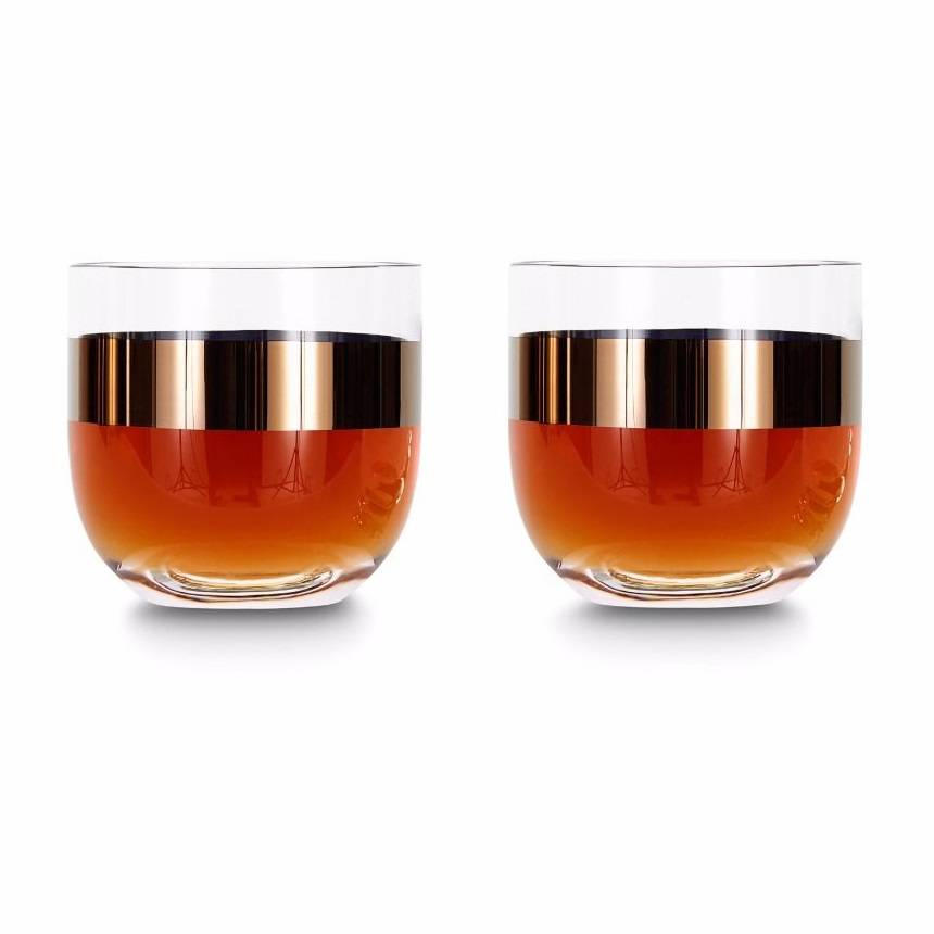Tank Whiskey Glasses x2