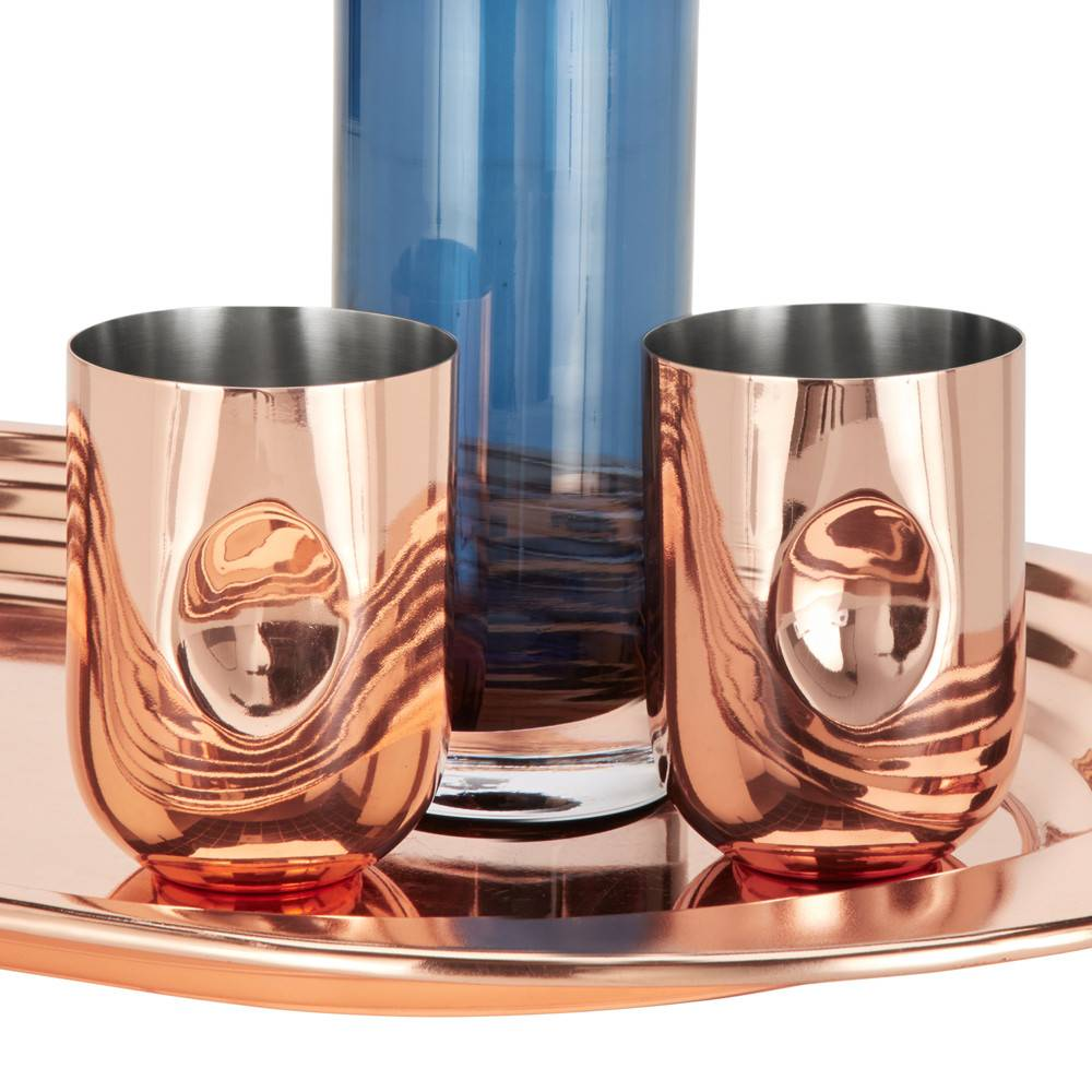 Plum Moscow Mule Set Of 2