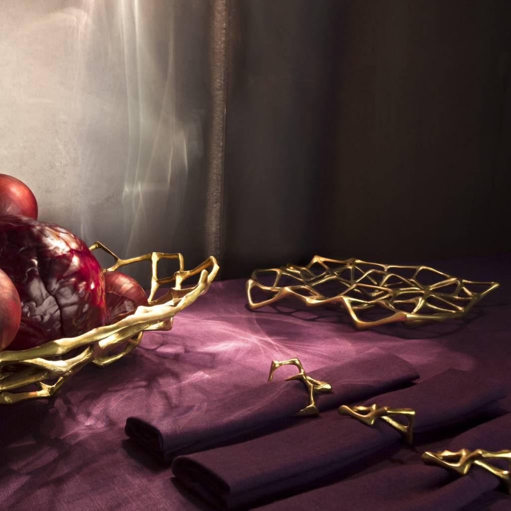 Bone Trivet Brass