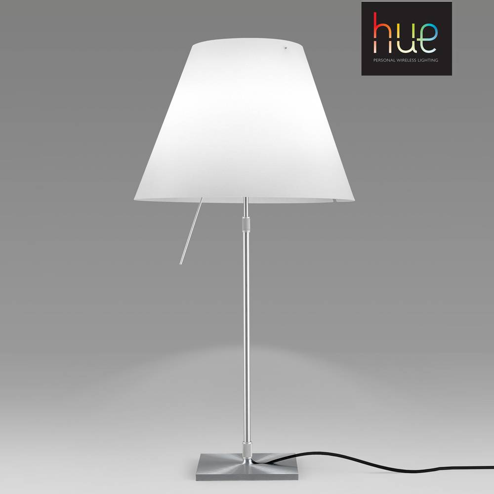 Luceplan costanza with philips hue table lamp le studio luminaires costanza with philips hue table lamp aloadofball Gallery
